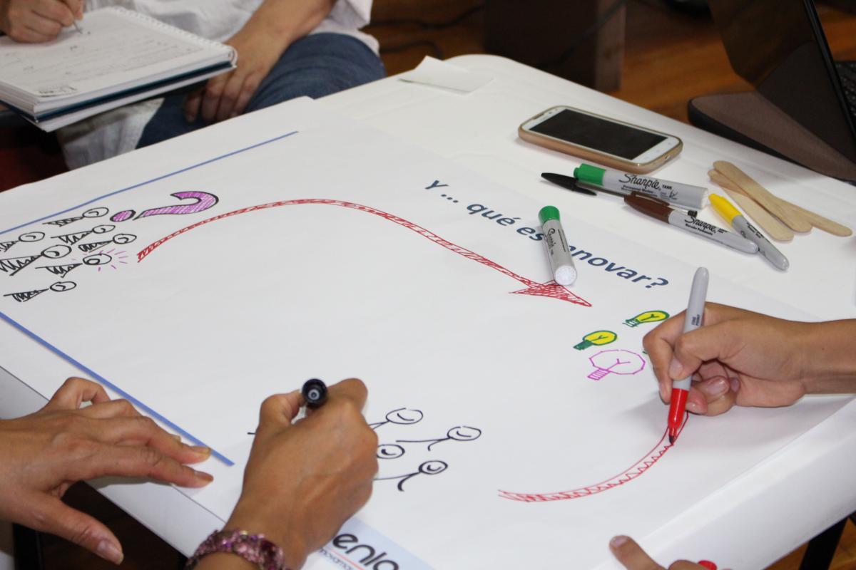 """Innovación Colaborativa: """"Una solución simple para desafíos en ambientes inciertos y cambiantes"""""""