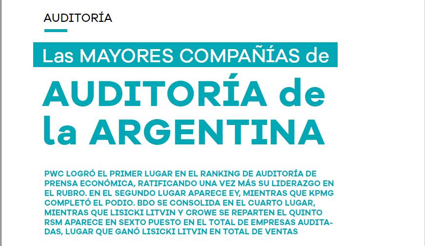 Prensa. Ranking de Auditoría (Prensa Económica. Febrero 2021)