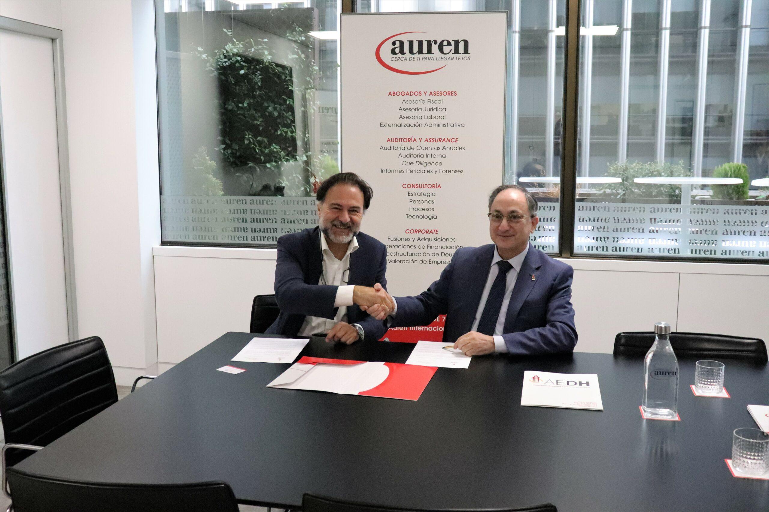 Auren formará a los directivos de hoteles de la AEDH para mejorar la gestión del sector
