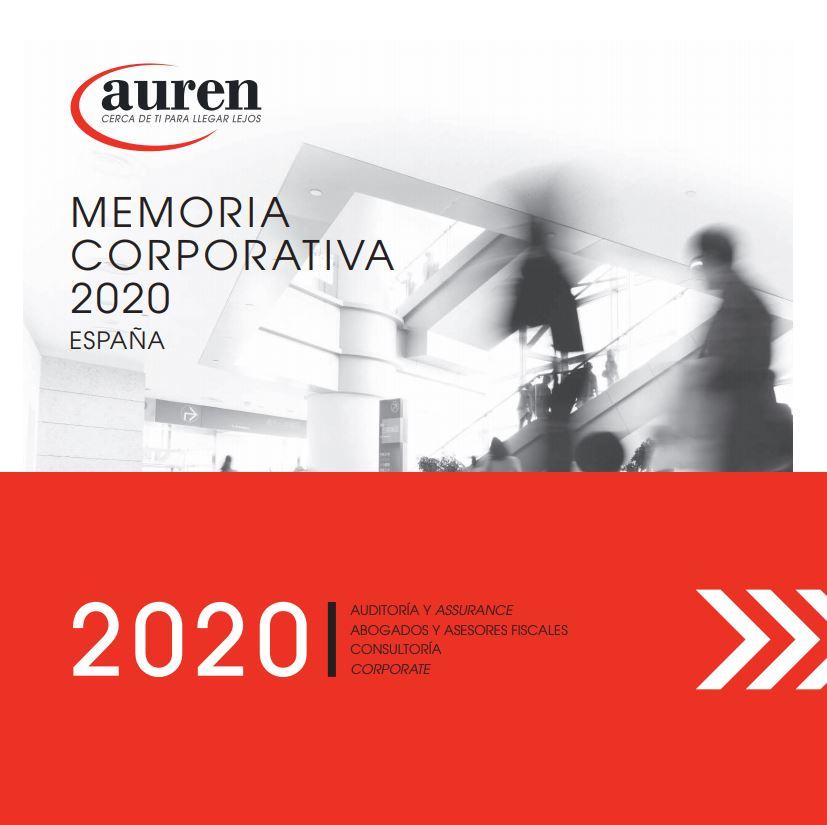 Memoria Corporativa 2020