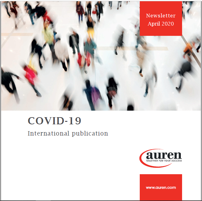 COVID-19 newsletter April