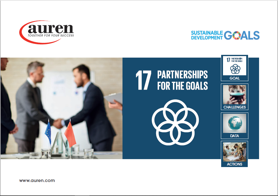 NEWSLETTER PARTNERSHIPS FOR THE GOALS