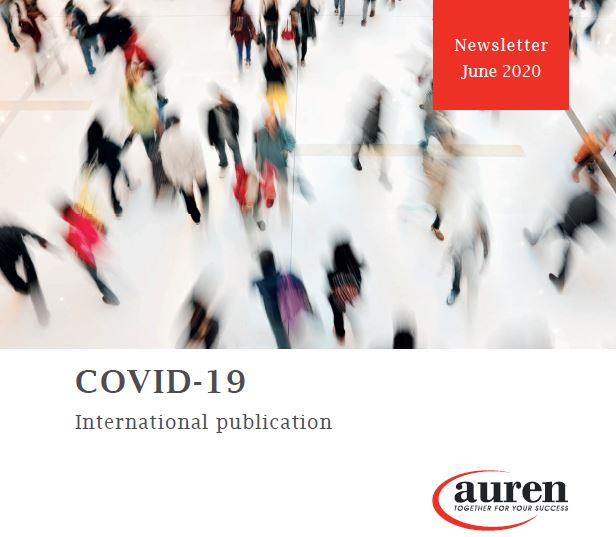 COVID-19 newsletter June