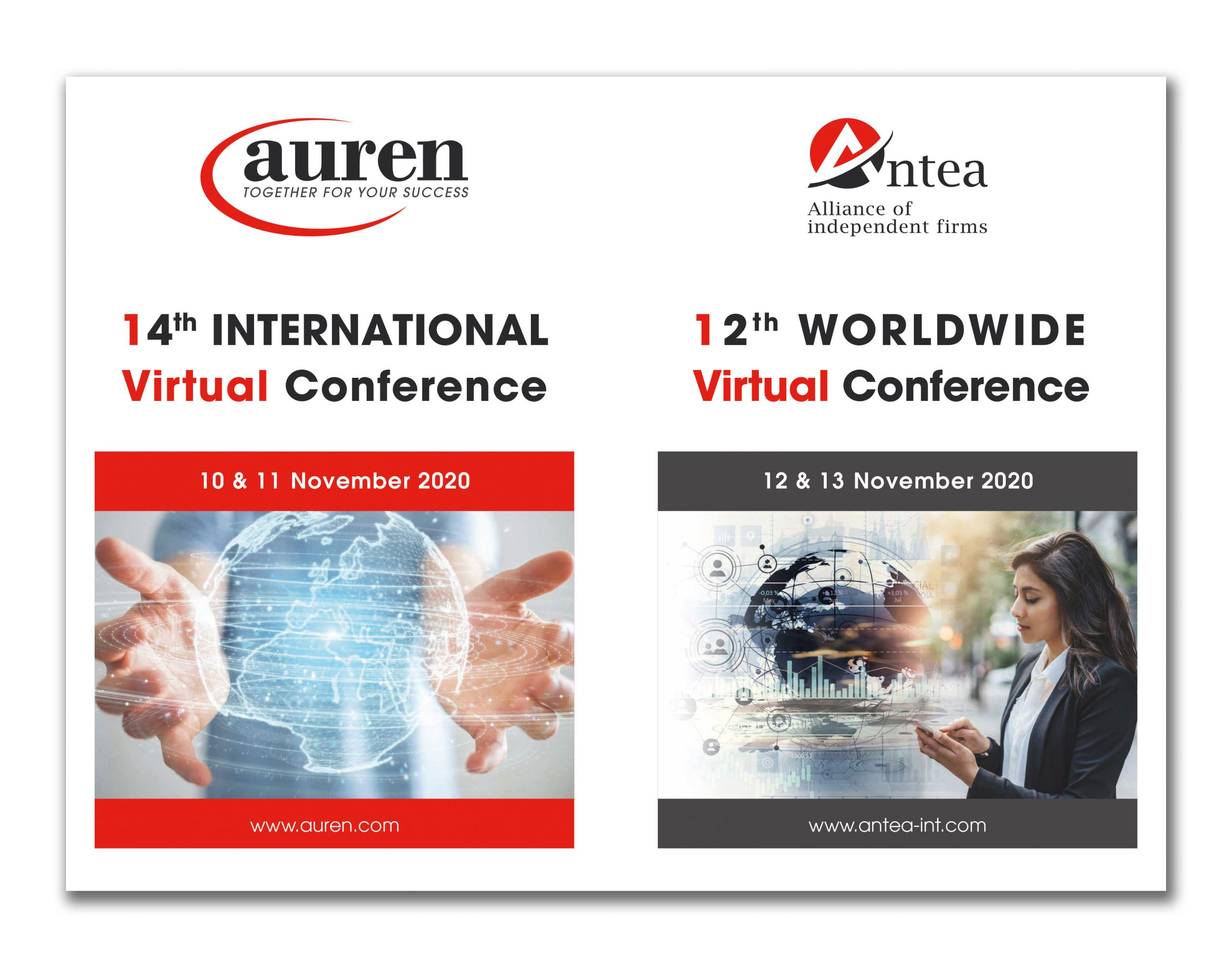 14th Auren International Virtual Conference & 12th Antea Worldwide Virtual Conference