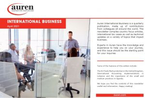 International Business April 2021