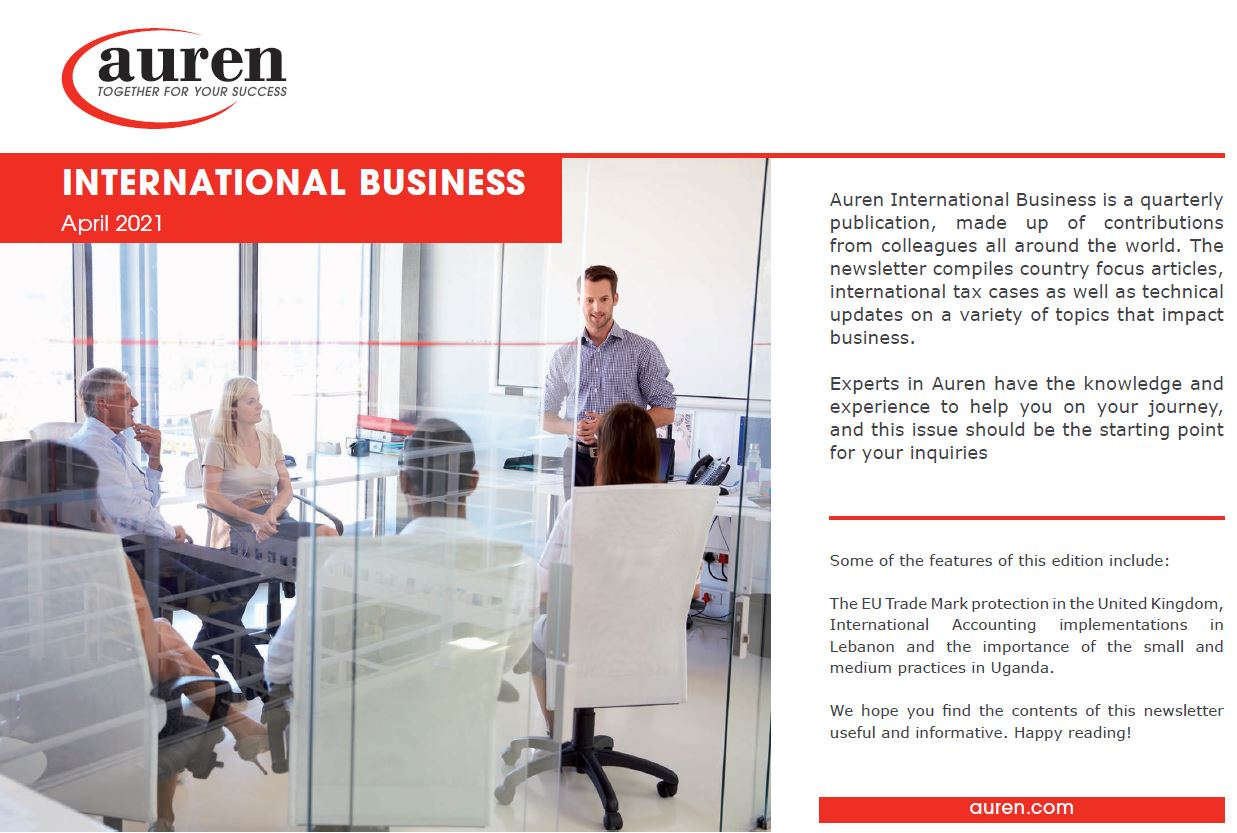 International Business April 2021