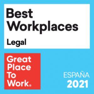 Auren España entre las mejores empresas para trabajar en el sector legal por el Great Place to Work