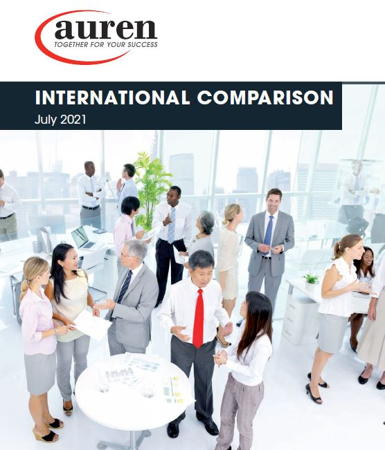 International Comparison July 2021