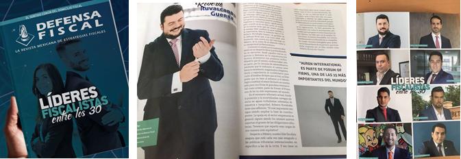 Dr. Ruvalcaba aparece en la lista de Lideres Fiscalistas en México