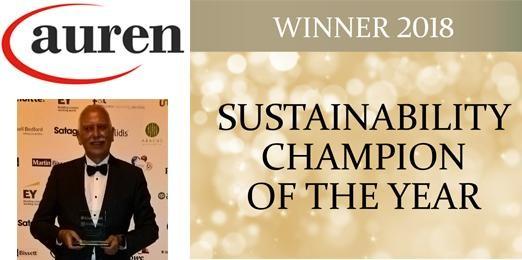 Auren wint sustainability award 2018