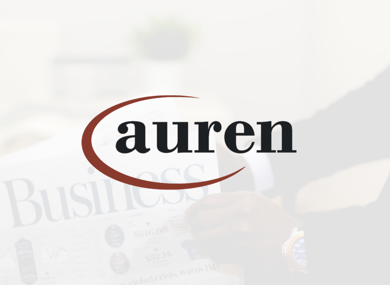 AUREN NEWS - AGOSTO 2020